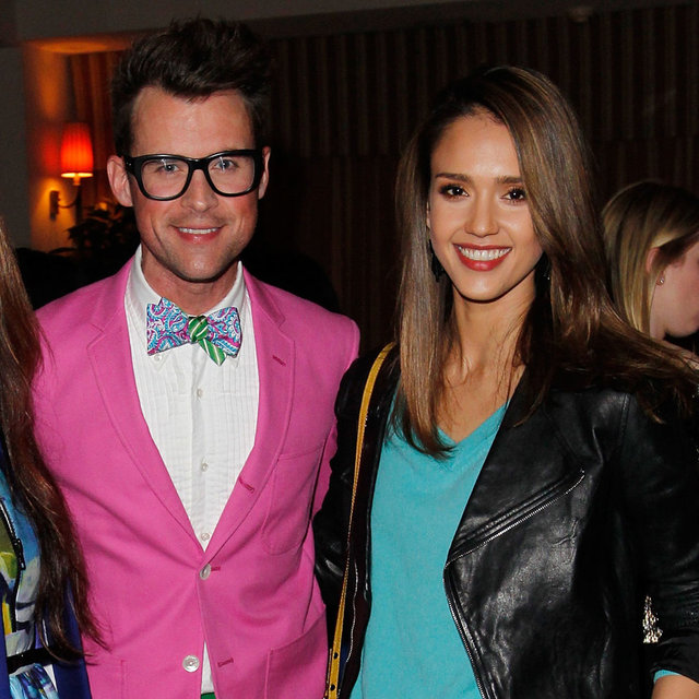 Jessica Alba, Minka Kelly, Mandy Moore, Kate Spade Dinner