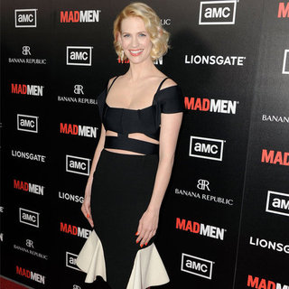 January Jones Mad Men Premiere Interview (Video)