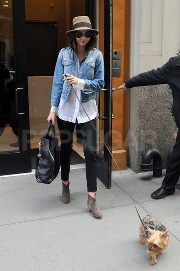 Frankie Leads the Way For Miranda Kerr in NYC
