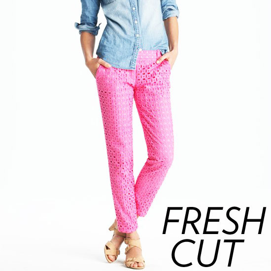 Shop Cropped Trousers Spring 2012