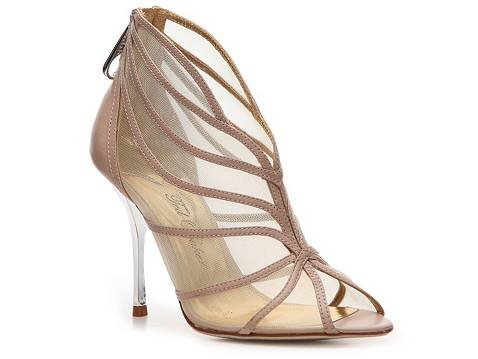 We think this nude mesh bootie would pair well with laid-back evening wear, providing the glitz and glam without stealing the show. Ted Baker Xene Bootie ($100)