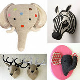 10 Kid-Friendly Faux Animal Heads