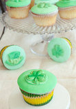Crme De Menthe Cupcakes