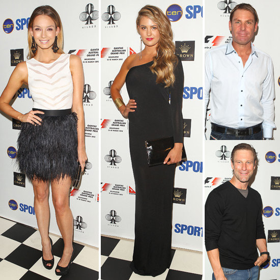 Ricki-Lee, Jesinta, Shane and More Celebrate the Australian Grand Prix