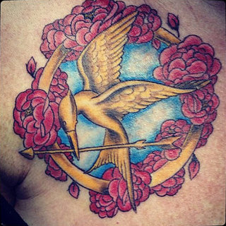 10 Mockingjay Hunger Games Tattoos