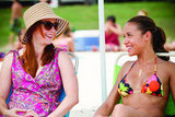 Alyson Hannigan as Michelle and Dania Ramirez as Selena in American Reunion.  Photo courtesy of Universal Pictures