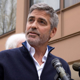 George Clooney After Jail Pictures