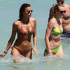 Irina Shayk and Anne V Bikini Pictures