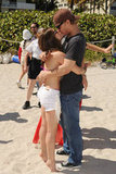 Bikini-Clad Lucy Hale Hangs With Costar Ashley Benson and Makes Out With Chris Zylka