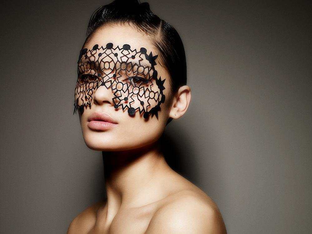 Face lace appliques by phyllis cohen