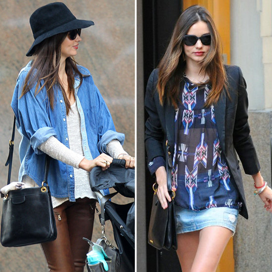 Miranda Proves That Denim Never Goes Out of Style