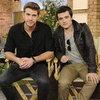 Hunger Games' Liam Hemsworth and Josh Hutcherson in Toronto