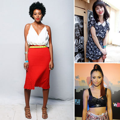 See the Celebrity Style on Show at South by South West Music Festival: Solange Knowles, Kimbra, Santigold & more!