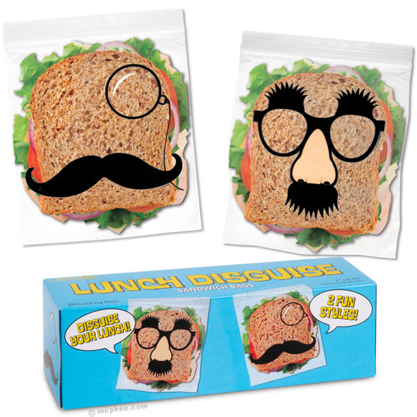 Lunch Disguise Sandwich Bags ($4)