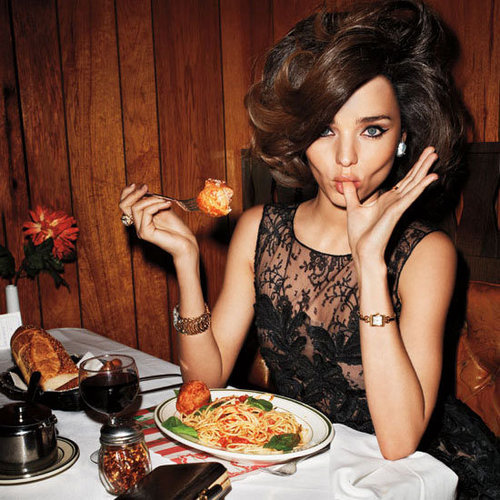 Miranda Kerr Does Ladylike for Terry Richardson for Harper's Bazaar April 2012 Issue: See her Pose Up a Storm in Little Italy!