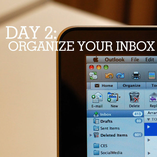 Tips for organizing your inbox.