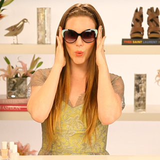 DIY Your Own Retro-Fabulous Pastel Tipped Sunglasses: Watch Our Easy How-To Video