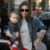 Miranda Kerr and Cute Flynn Pictures in NYC