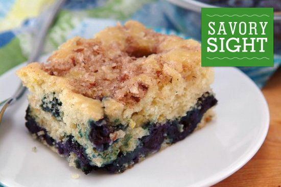 Move over, smoothies: a blueberry-lemon coffee cake, courtesy of ...