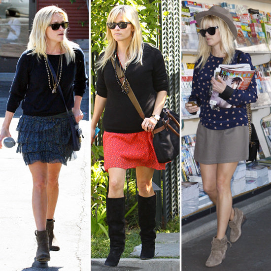 Happy Birthday, Reese! Re-Create Her Signature Flirty-Skirt Look