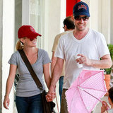 Reese Witherspoon and Jim Toth showed their team spirit in Ojai in March 2011.