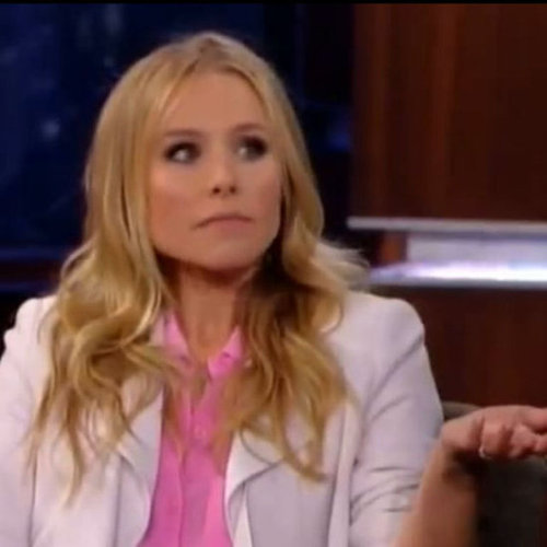 Kristen Bell Talking About Her Hunger Games Obsession on Jimmy Kimmel
