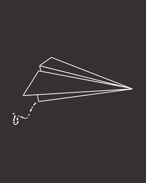 This simple, lighthearted Paper Airplane Print ($20) will make you smile every time you look at it.
