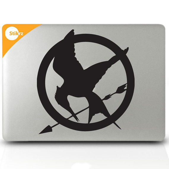 Hunger Games laptop decal ($10)
