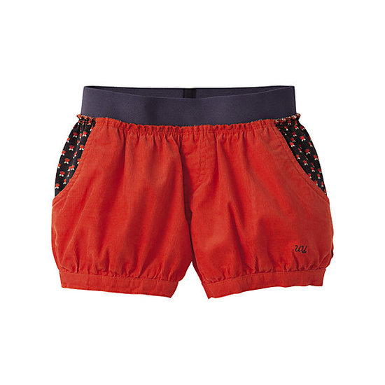 Corduroy Bubble Shorts ($40)