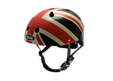 The royal baby can protect his or her noggin with Nutcase's Little Nutty Union Jack Bike Helmet ($60).