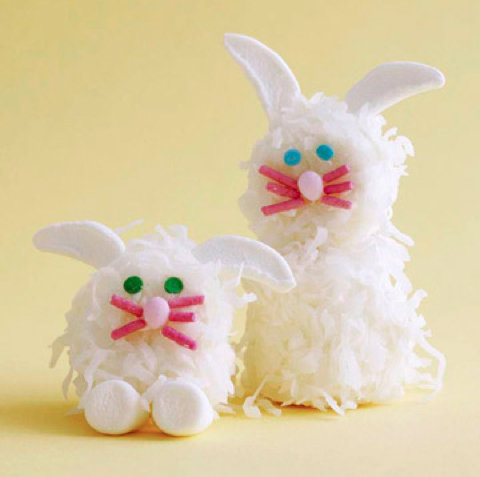 Marshmallow Easter Bunny Treats