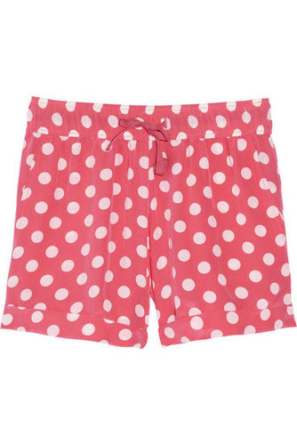 Paul & Joe Sister Gomette polka-dot silk shorts - 55% Off Now at THE OUTNET