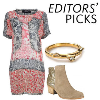 Editor's Picks: Fashion, Celebrity and Beauty Editors Share Their Top Shopping Picks, Printed Denim, Leather Skirts & More!