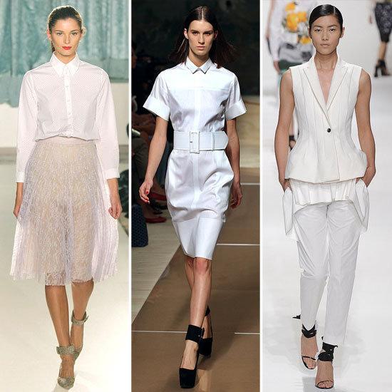 Colour Report: Minimalist Whites