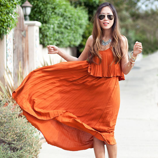 Spring Street Style Trend Pleats