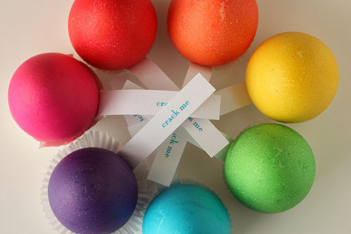 For Easter: A Rainbow of Surprises