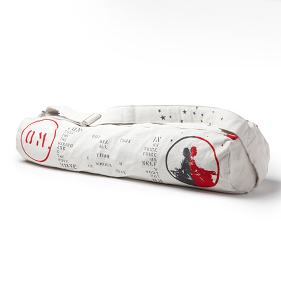 Get centered with this eye-catching Lyrics Practice Tote — Om ($69) from Manduka. If you're worried about white but love the print, there are a few other colors available with the same Om-inspired print.