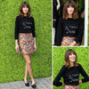 We Want Alexa Chung'sJe T'aime Jane Sweater! Shop Her Sweet Slogan Knit Style Online