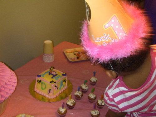 Samara's 1st Birthday Party-Minnie Mouse theme