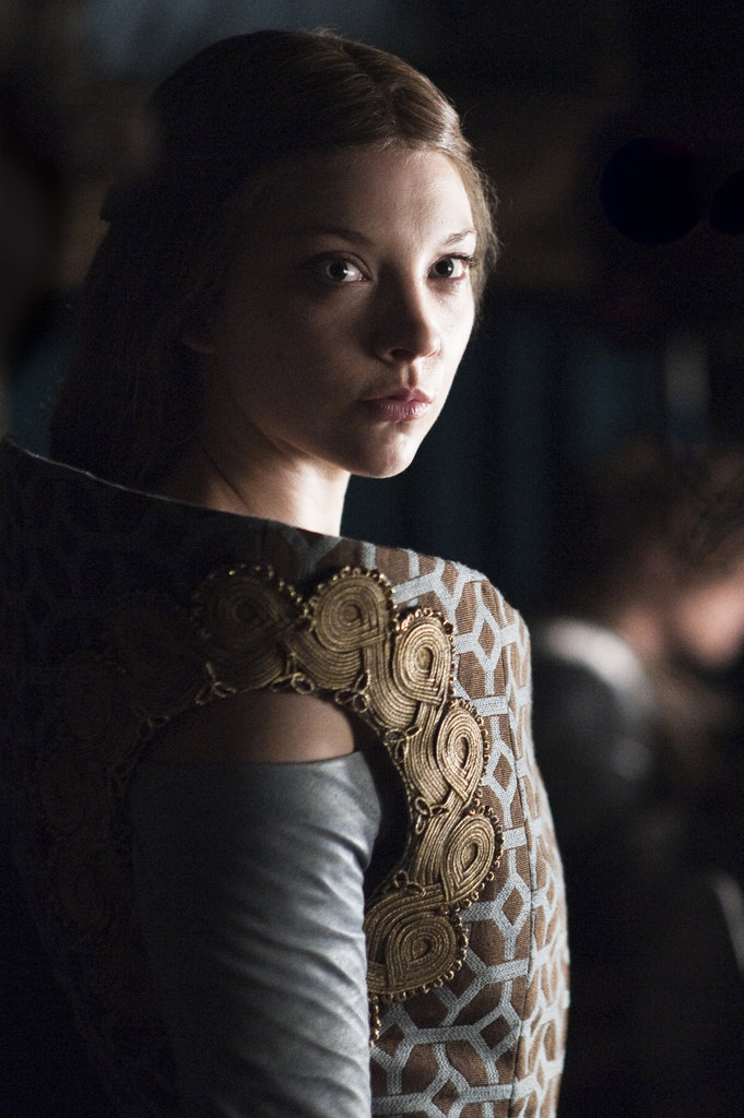 Natalie Dormer	as Margaery Tyrell on Game of Thrones.  Photo courtesy of HBO