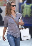 Birthday Girl Keri Russell Shops Solo and Preps For Her Small-Screen Project