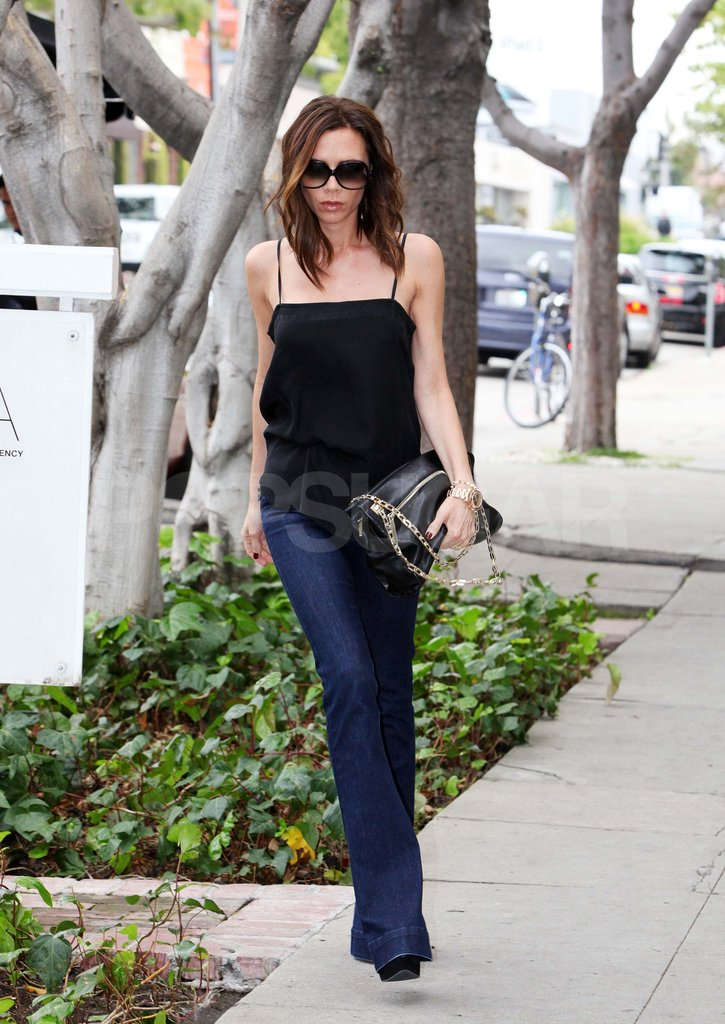 Victoria Beckham Welcomes the Weekend in a Tank Top