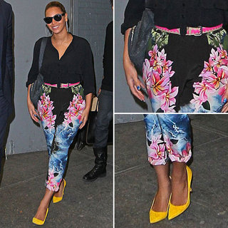 Beyonce Printed Pants by Stella McCartney