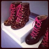 We may be headed into Spring, but these DVF boots gave us something to look forward to for Fall.