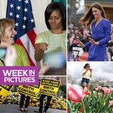 The First Lady Shows St. Patty's Day Spirit, Kate Plants a Tree, and Hunger Games Heat Up