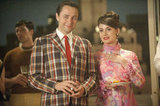Vincent Kartheiser as Pete Campbell and Alison Brie as Trudy Campbell on Mad Men.  Photo courtesy of AMC