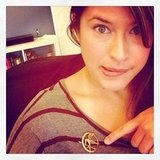 Buzz editor Shannon wore her Mockingjay pin for Hunger Games Friday. Follow her at shannonvestal!