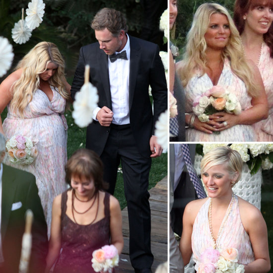 Jessica Simpson Pictures Pregnant at Friend's Wedding. Previous 1 / 6 Next