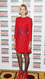 Agyness Deyn at the Jameson Empire Awards in London.