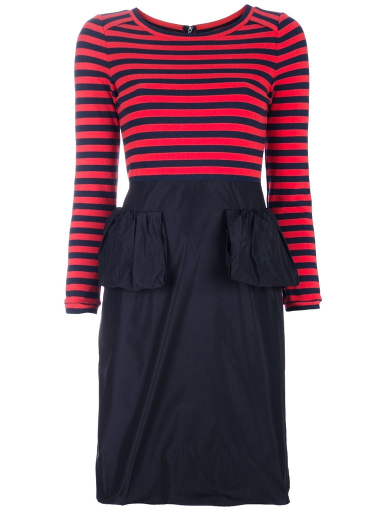 Marc By Marc Jacobs Striped Jersey Peplum ($734)